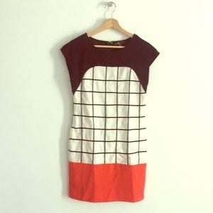 Color block dress